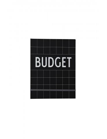 Planer budżetu domowego Design Letters