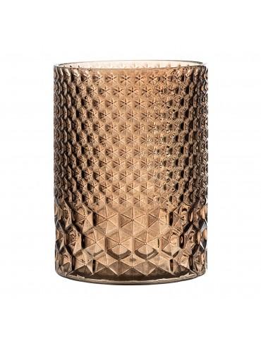 Dekoracyjny szklany świecznik Bloomingville