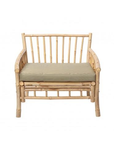 Wygodny fotel bambusowy Sole Bloomingville