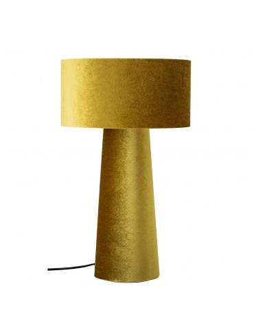 Lampa stołowa żółta Bloomingville