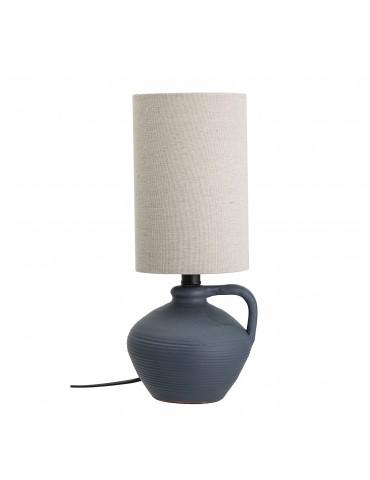 Lampa stołowa niebieska...