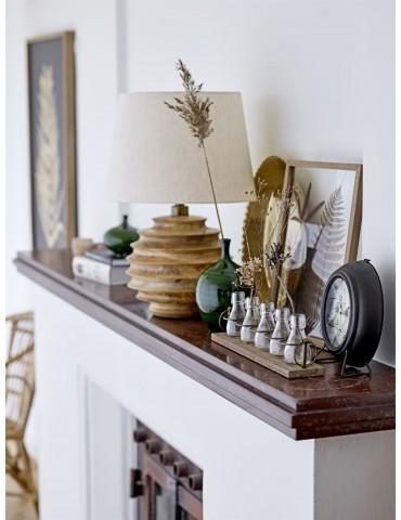 Dekoracyjny zielony wazon