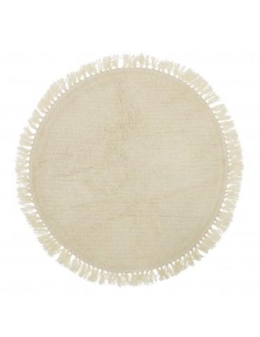 dywan okrągły wełniany