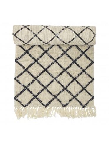 Dywan wełniany z wzorem