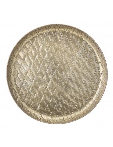 Złota taca aluminowa Bloomingville