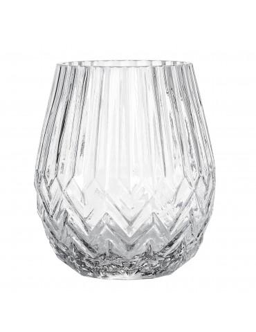 Elegancki wazon szklany w stylu retro