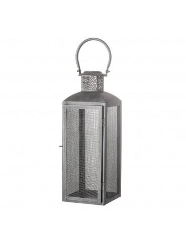 Ciemnoszary lampion metalowy Tidus marki Bloomingville