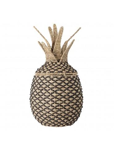 Kolorowy kosz na zabawki ananas