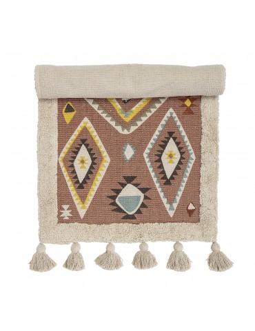 Kolorowy dywan dziecięcy Lutz marki Bloomingville