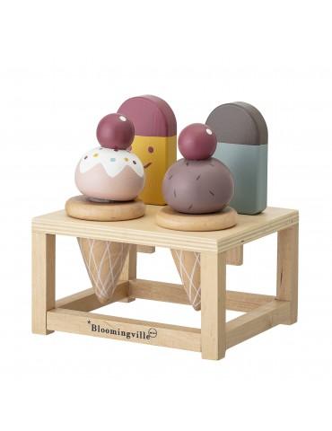 Zabawka lody z drewna