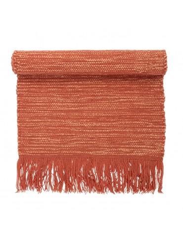 Stylowy dywan pomarańczowy