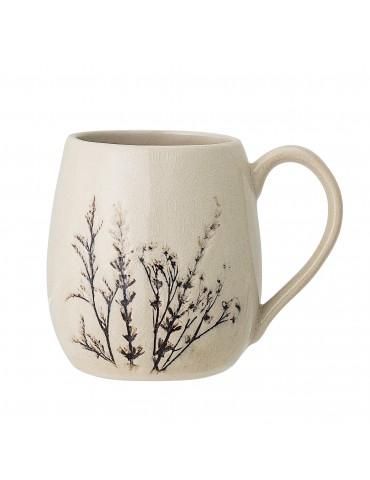 klasyczny kubek z roślinnym wzorem