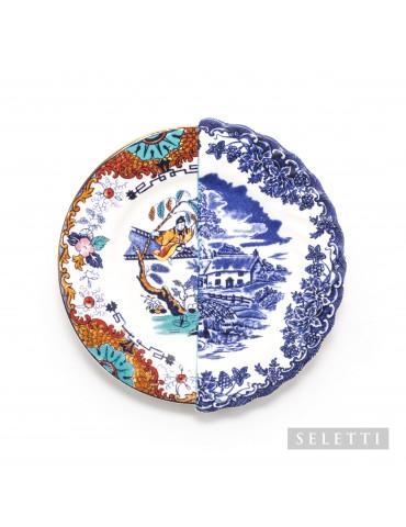 piękny talerz z porcelany
