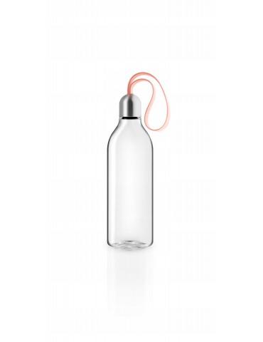 Przenośna butelka na wodę różowa