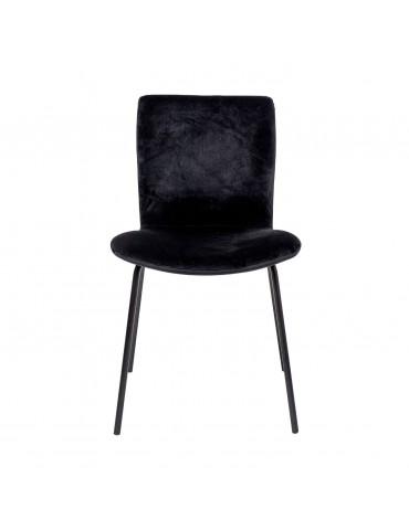Krzesło czarne Bloom marki Bloomingville