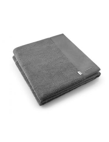 Elegancki ręcznik 70x140cm ciemnoszary