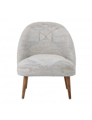 Krzesło niebieskie Halbin Bloomingville