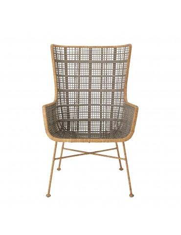Krzesło rattanowe Lounge Bloomingville