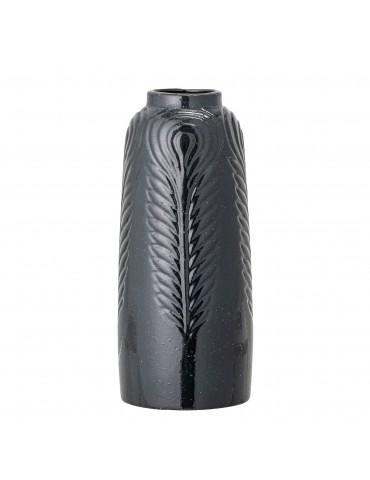 Czarny wazon dekoracyjny