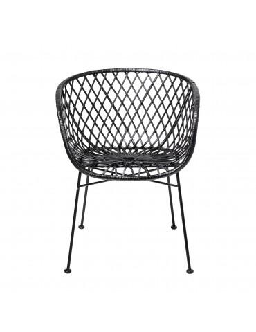 Krzesło rattanowe Kama Bloomingville