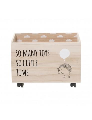 Skrzynia na zabawki na kółkach Bloomingville