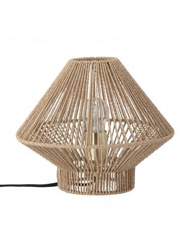 Lampa stołowa naturalna ozdobna