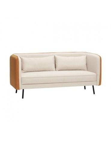 Sofa beżowa marki Hubsch