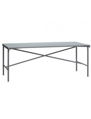 Stół metalowy, szary marki Hubsch