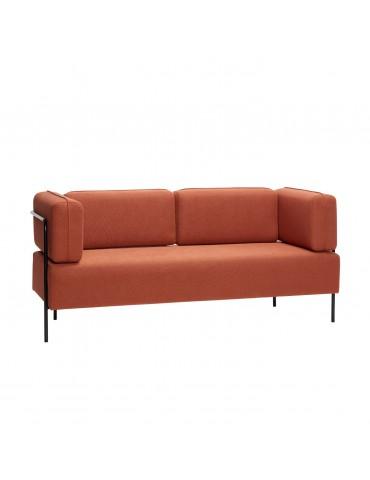 Sofa brązowa marki Hubsch