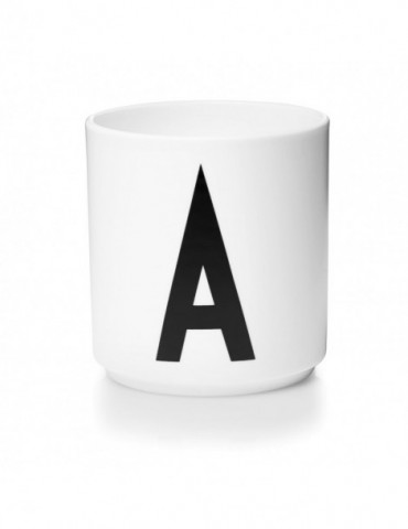 Kubek z literą A