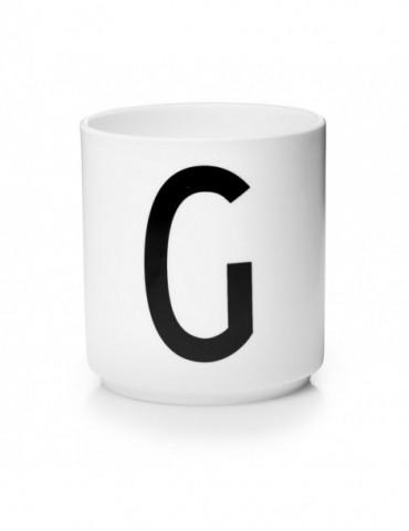 Kubek z literą G