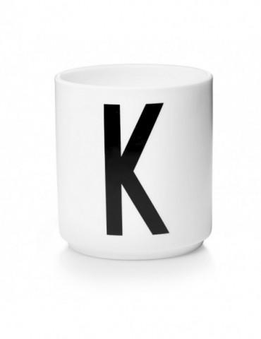 Kubek z literą K Design Letters