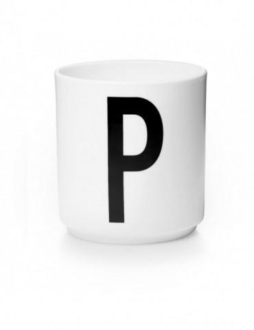 Ozdobny pojemnik z literą