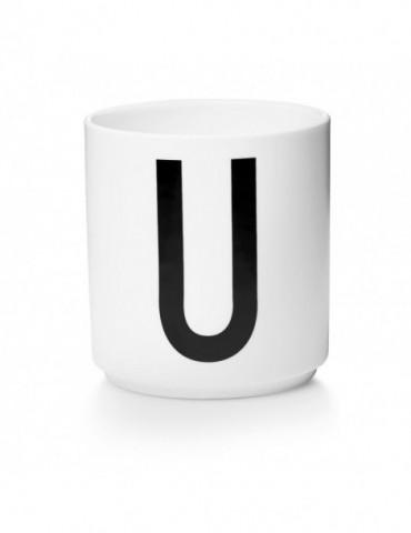 Kubek z literą U