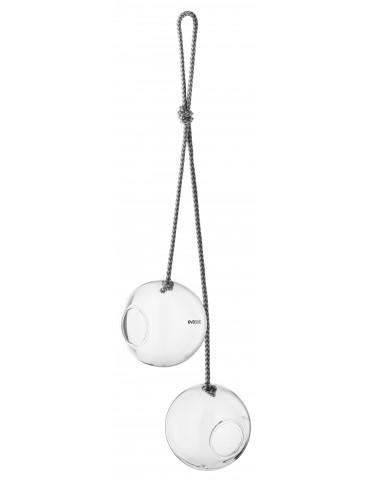 Szklane okrągłe karmniki dla ptaków Eva Solo