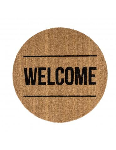 Wycieraczka okrągła Welcome marki Bloomingville