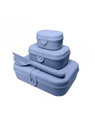 pudełka lunchbox niebieskie koziol