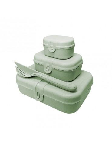 Zielony Lunchbox firmy Koziol