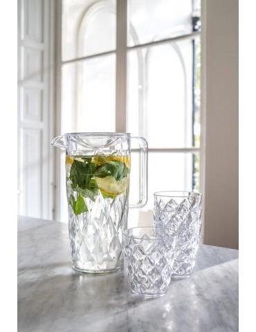 Stylowa szklanka z tworzywa sztucznego