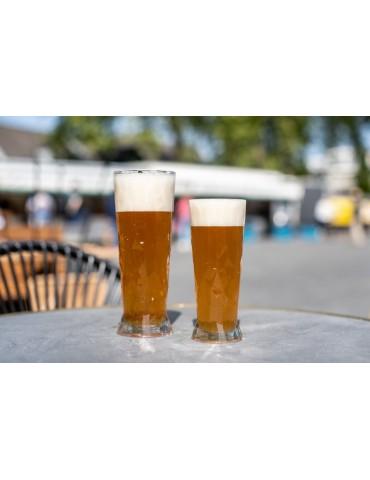 Nietłukąca się szklanka do piwa z tworzywa sztucznego