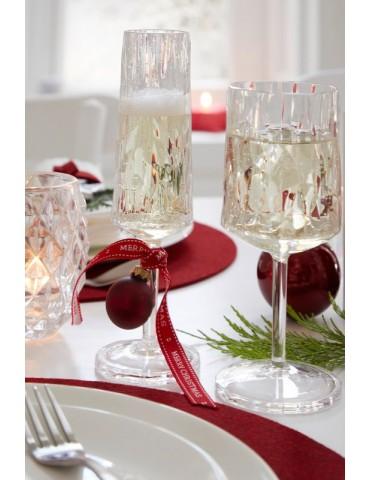 Elegancki kieliszek do szampana z tworzywa sztucznego