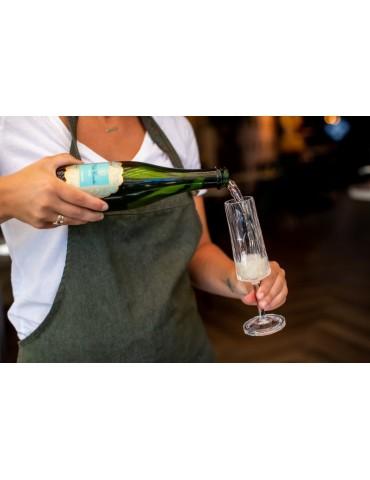 Stylowy nietłukący się kieliszek do szampana z plastiku