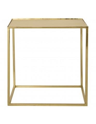 Złoty stolik Cube Bloomingville