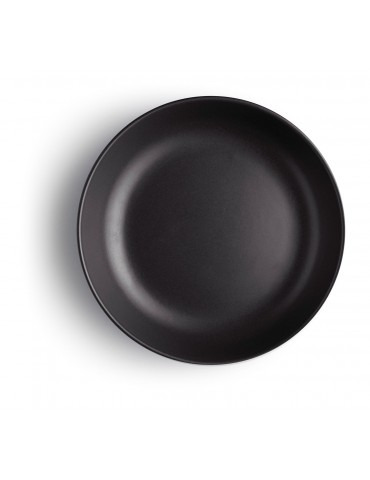 Czarny talerz głęboki