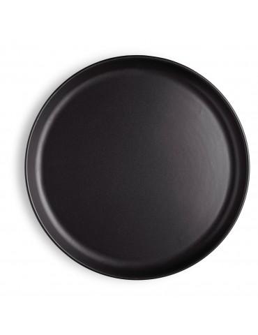 Duży czarny talerz