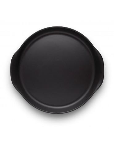 Talerz czarny do serwowania dań