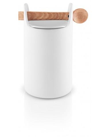Biały elegancki pojemnik kuchenny