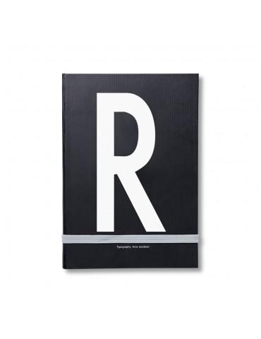Notatnik osobisty z litera Design Letters