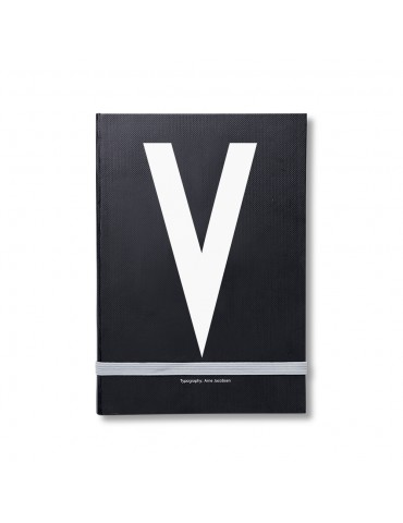 Notes osobisty z literą Design Letters