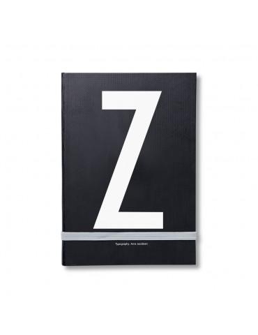 Notes osobisty z litera Design Letters
